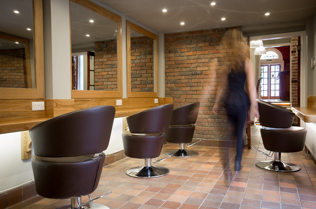 Newly Refurbished and renovated Courtyard Salon - Q Hair ...