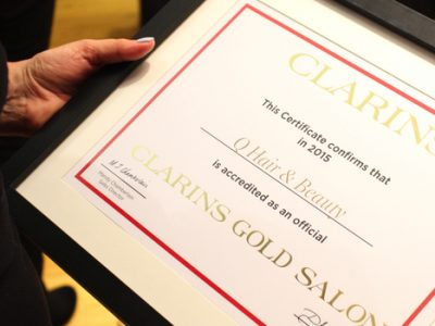 Clarins Gold Web