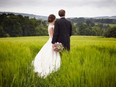 Bridal hair on location wedding7